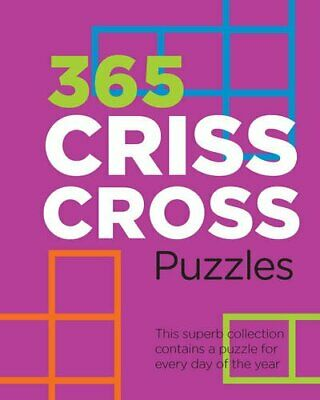 365 Criss-Cross Puzzles Book The Cheap Fast Free Post