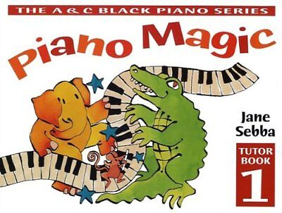 Piano Magic: Tutor Book 1 - Sheet Music Paperback Book The Cheap Fast Free Post
