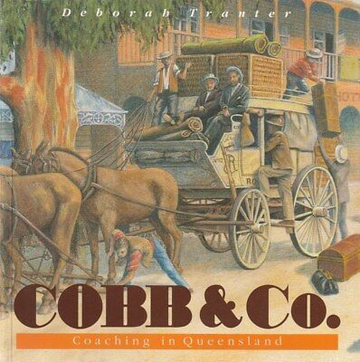SCARCE Cobb & Co. Coaching in Queensland Very detailed history BOOK