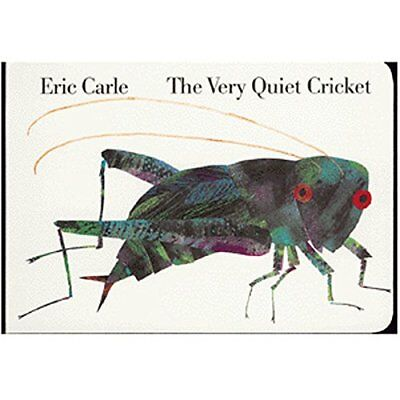 The Very Quiet Cricket by Carle, Eric Book The Fast Free Shipping