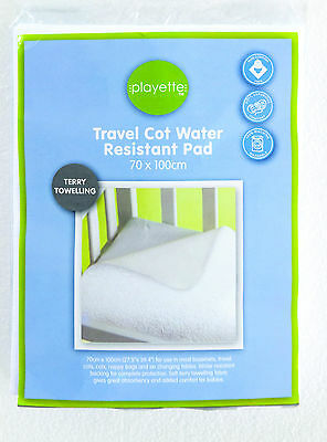 Travel Cot Water Resistant Pad - Pure Comfort 100% - 1394170..