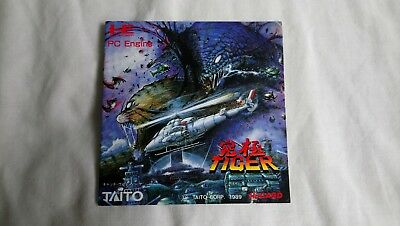 PC Engine Kyukyoku Tiger manual