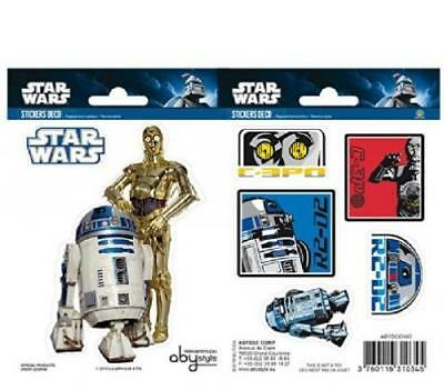 Star Wars R2-D2 C3PO Sticker Set