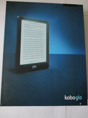 KOBO GLO EBOOK Reader N613 2GB, Wi-Fi, 6in - Black Boxed Mint Condition