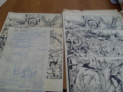 Letter From Ron Smith About Future Art Work + Some Dummy Pages