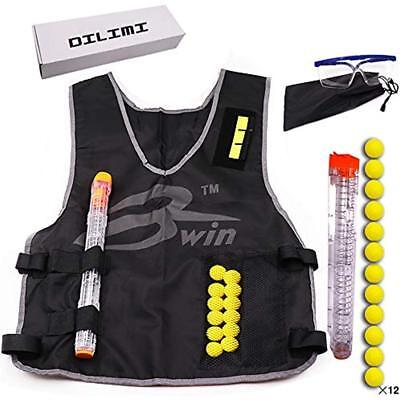 Tactical Blasters & Foam Play Vest Kit For Nerf Rival +12 Darts 12-Darts Quick