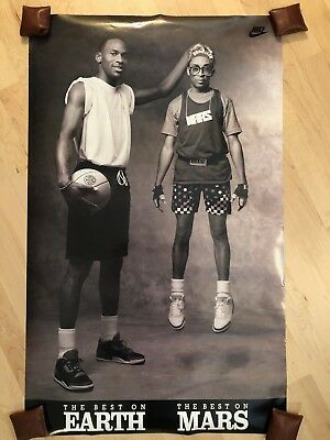 Michael Jordan & Spike Lee Poster - The Best On Earth, The Best On Mars - Nike