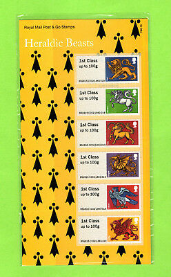 "POST & GO Stamps ""Heraldic Beasts"" P&G 19 New MNH"