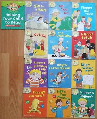 Read with Biff, Chip and Kipper Level 1 (13 Books)