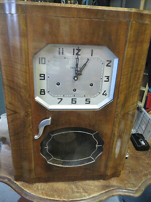 ancien Carillon 8 Marteaux 8 Tiges VEDETTE westeminster french antique clock