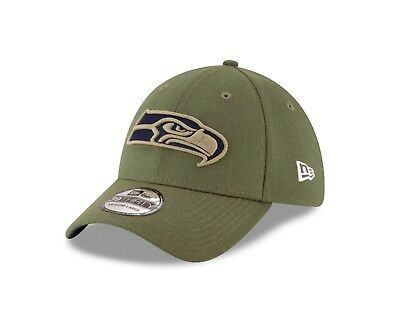 ede1e5adc28 Seattle Seahawks New Era 2018 Salute To Service Sideline 39THIRTY Flex Hat