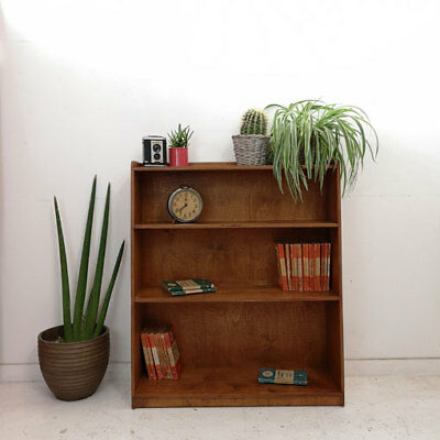 Vintage Mid Century Bookcase Shelving