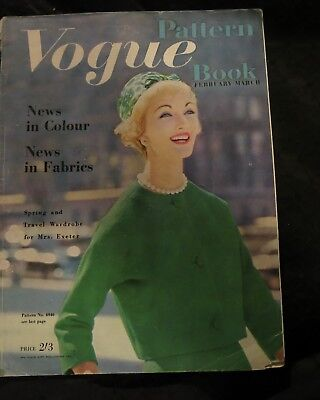 Vogue Pattern Book  Conde Nast Publications Fashion Dressmaking