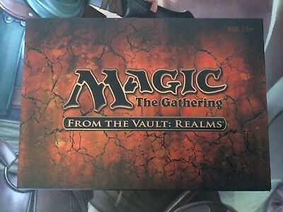 Mtg, SEALED From The Vault: Realms. Mint Unopened.