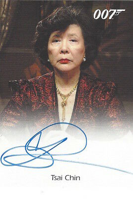 James Bond In Motion - FULL BLEED AUTOGRAPH TSAI CHIN