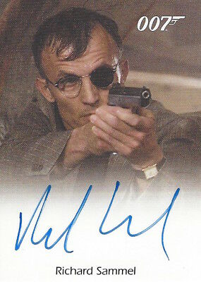 James Bond In Motion - FULL BLEED AUTOGRAPH RICHARD SAMMEL