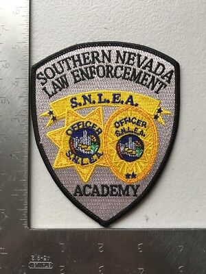 Southern Nevada Law Enforcement Police Academy Deputy Officer Patch Nv