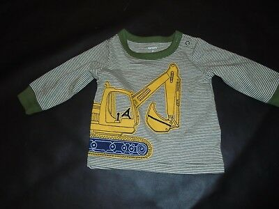 NWT Carters Digger Shirt Boys Sz 6mnths