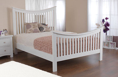 Sweet Dreams Vaughan Solid Pine Wooden Bed Frame Double King Superking