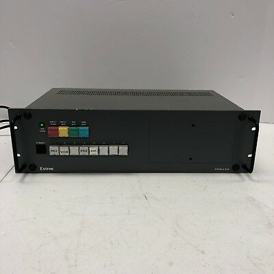 Extron System 8 Plus Audio Video Switcher Router Nice Condition FREE SHIPPING