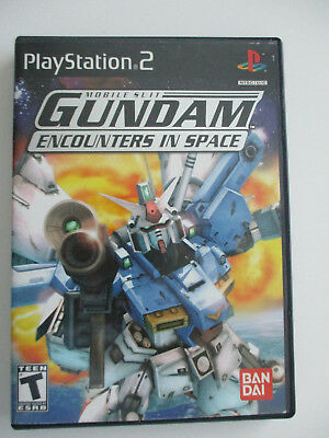 Mobile Suit Gundam: Encounters in Space - Sony PlayStation 2 - 2003 COMPLETE
