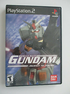 Mobile Suit Gundam: Journey to Jaburo (Sony PlayStation 2, 2001) COMPLETE PS2
