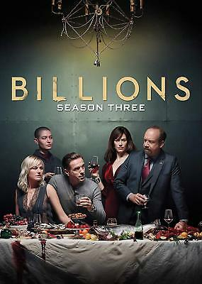 Billions: The Complete Third Season 3 (DVD, 2018, 4-Disc Set) FREE SHIPPING