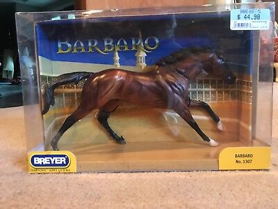Breyer Horse 1307 Barbaro Traditional Race Stallion Bay 2007 in Box