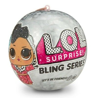 Lol Surprise! Bling Series Doll Ball Christmas 2018 Authentic Mga