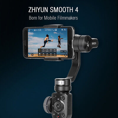 ZHIYUN Smooth 4 3-Axis Handheld Gimbal Stabilizer for Smart Phone iPhone HOT