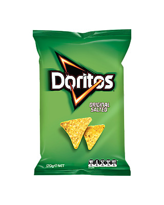 Doritos Original Corn Chips 170g Other Drinks pack