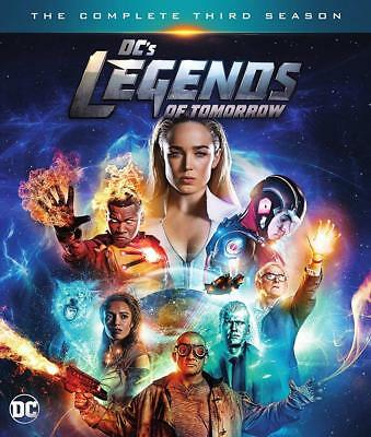 DC's Legends of Tomorrow: The Complete Third Season 3 (DVD, 2018) FREE SHIPPING