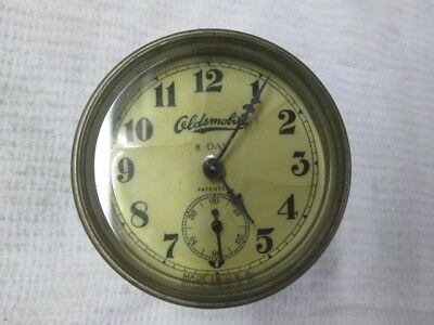 Oldsmobile Car Clock For Parts Or Restore Estate Find