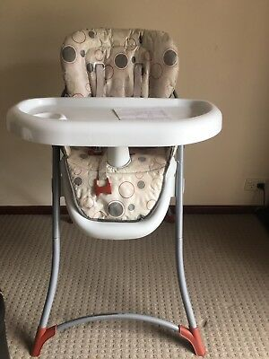 Steelcraft High Chair - adjustable with dishwahable tray