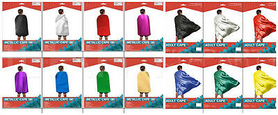 Adult Kid Cape Superhero Role Play Cosplay Costume Plain Colour Cape Sports Day