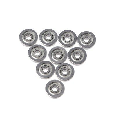 10Pcs F623Zz Mini Metal Double Shielded Flanged Ball Bearings For 3D Printer GF