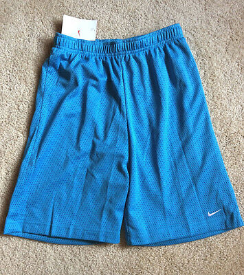 NIKE Girl's Youth~Med~Blue Athletic Basketball Shorts~New w/ Tag!
