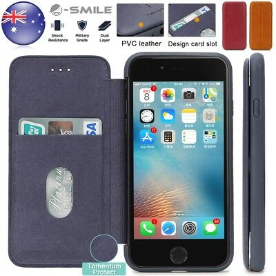 iPhone 8 7 Plus Case Genuine leather Wallet SMILE Flip Cover Protection Cover AU