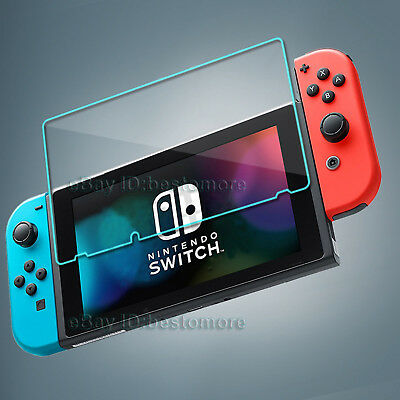 Tempered Glass Screen Film Protector Cover For Nintendo Switch NS Game Console