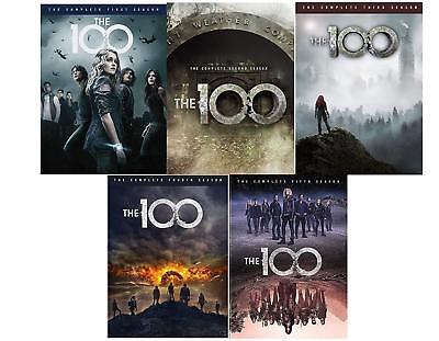 The-100-Season-5-Complete-DVD-2018-3-Disc-Set-Brand-New-Sealed  T