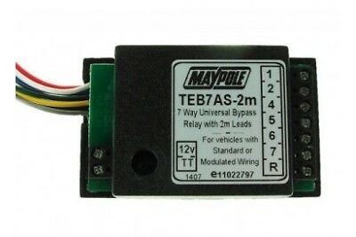 MP3877B2M 12V 7 Way Bypass 2 Metre Cable