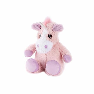 Warmies Unicorn Pink Heatable Plush Animal Microwaveable Soft Toy Reusable Cozy