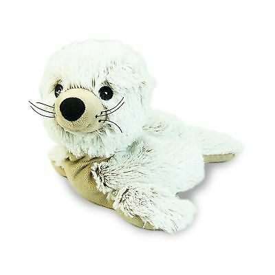 Warmies Seal Heatable Plush Animal Microwaveable Soft Toy Reusable Cozy Cuddly