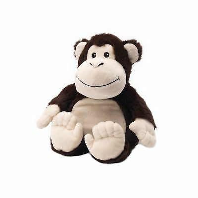 Warmies Monkey Heatable Plush Animal Microwaveable Soft Toy Reusable Cozy Cuddly