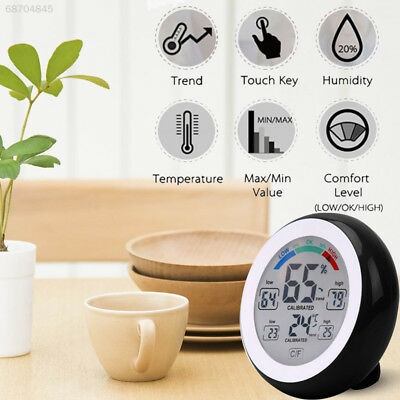 FA68 Hygrometer Thermometer Humidity Meter with LCD Display Temperature Trend
