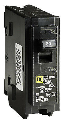 SQUARE D BY SCHNEIDER ELECTRIC Homeline 30-Amp Single-Pole Circuit Breaker