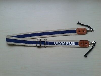 Vintage Genuine OLYMPUS OM Hunter Canvas Camera Strap - Excellent Condition