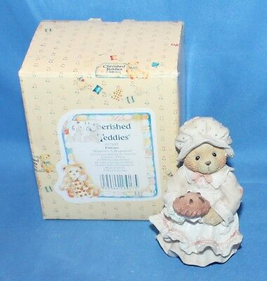 Cherished Teddies Patience Happiness Is Home... Figurine # 617105 1994 By Enesco