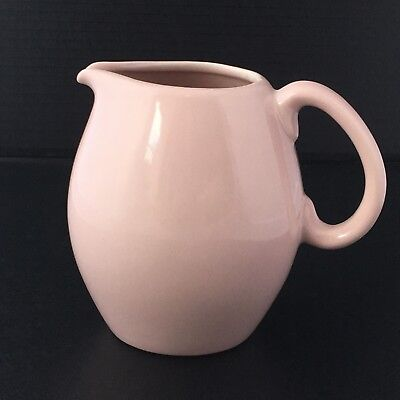 Russel Wright Iroquois Pitcher Pink Sherbet Water Pitcher MCM Kitchen Service