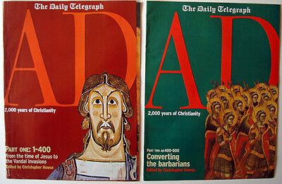 Daily Telegraph Vintage magazines AD 2000 Years of Christianity 5 magazines